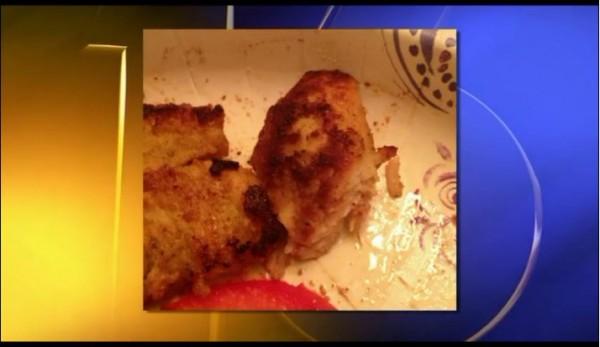 Screenshot of WNEP broadcast regarding Ernesto Hernandez's chicken